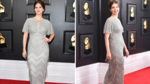Lana Del Rey dazzled at the Grammys in last-minute dress she bought on the high street