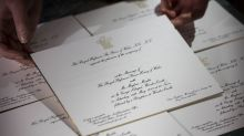 Prince Harry and Meghan Markle's royal wedding invitations are in the post