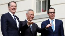 "U.S.-China trade deal ""totally done,"" will expand U.S. exports - Lighthizer"