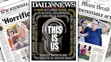 'THIS IS US': Newspapers react to Florida school shooting