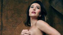 De nudes a ensaios, 12 cliques que mostram Sabrina curtindo o barrigão