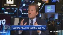 Global M&A hits record $2 trillion year-to-date