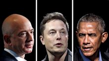Hackean cuentas Twitter de Bezos, Musk, Apple, Obama… y hasta de Dios