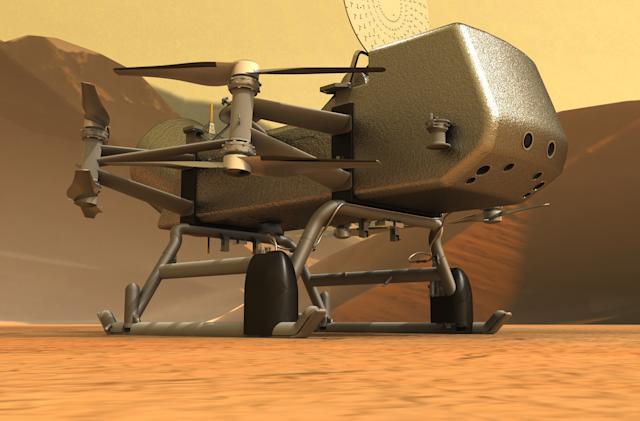 NASA delays its Titan drone mission by another year