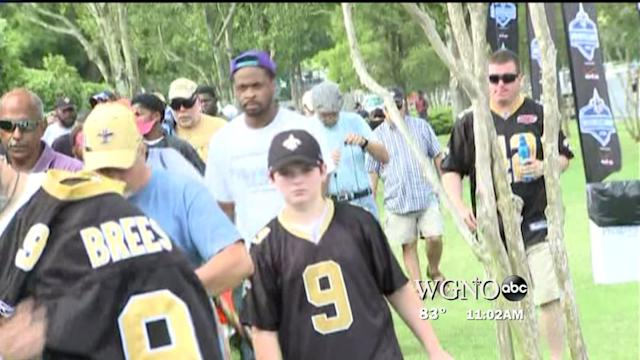 Saints Fans Hope for Answers at Mini Camp