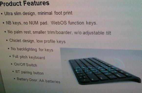 Palm's tablet is codenamed 'Topaz,' keyboard accessory leaks out