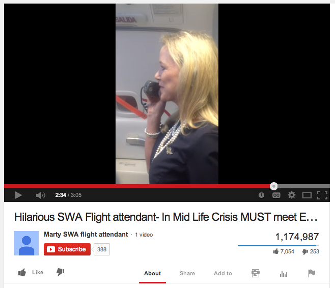 Viral News Today Home: Flight Attendant's Hilarious Safety Instruction Video Goes