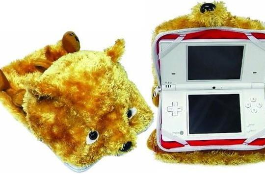 Puppet Pouch puts fur on your DS / DSi, smiles on people's faces