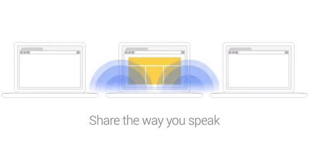 Chrome add-on shares your web links through sound bursts
