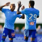 Clinton N'jie at the double as Marseille cruise to victory