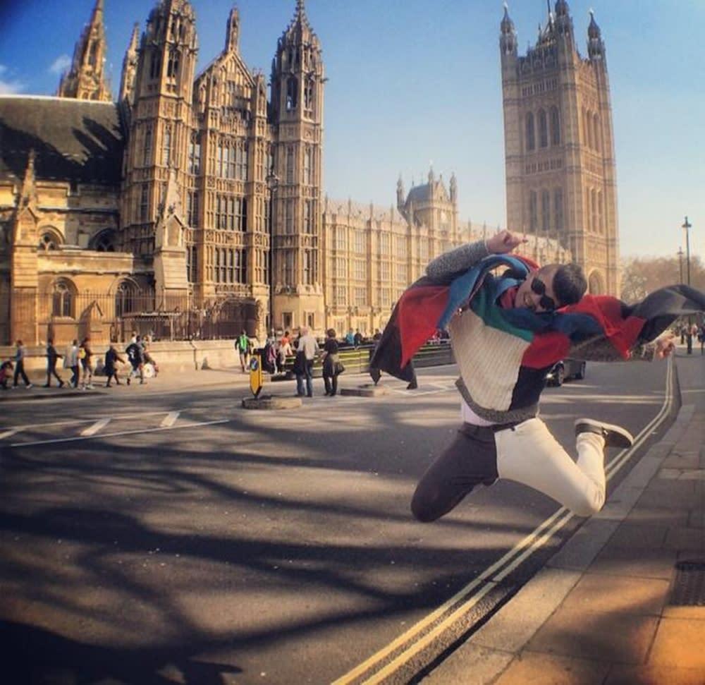 麥基第一次前往英國旅行就是自助行,覺得英國好買好玩又好拍!