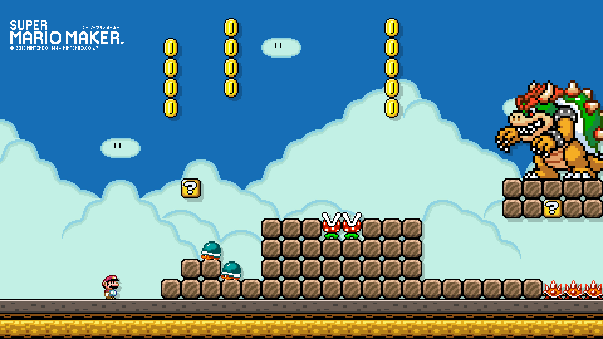 Craft Your Own Mario Maker Wallpapers With This Nintendo App