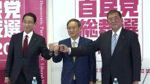 Começa campanha para sucessão de Shinzo Abe