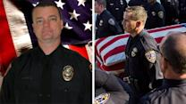 Honor guard lays slain officer to rest in Riverside, CA