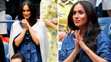 Meghan Markle cheers on Serena Williams at US Open in $1.7k outfit