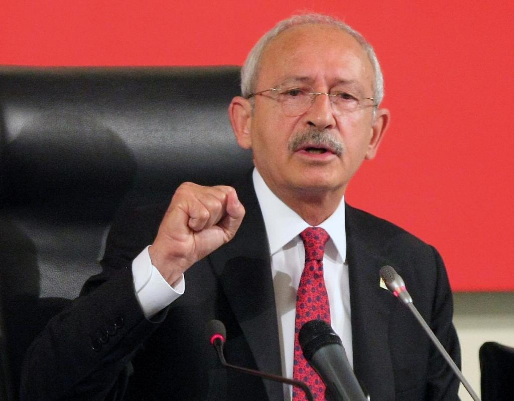 Kemal Kilicdaroglu, leader of Turkey's main opposition Republican Peoples' Party (CHP) (AFP Photo/Adem Altan)