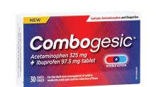 BioSyent Launches Combogesic®, First-Ever Acetaminophen + Ibuprofen Combination Tablet in Canada Now Available