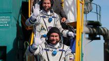 'No time to be nervous': Cosmonaut, astronaut recount spacecraft mishap