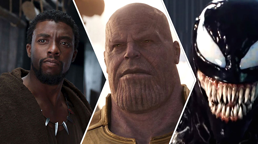 All of 2018's comic book films ranked