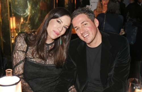 Liv Tyler and her partner, David Gardner