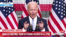 Présidentielle américaine : Joe Biden et Donald Trump se rendent coup pour coup sur la sécurité