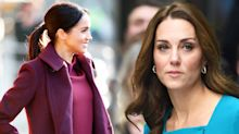 "Meghan and Kate's 'feud' addressed by royal biographer: ""They might both be pretty brunettes, but that's where their similarity ends"""