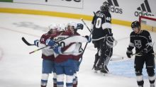 MacKinnon reaches 500 points as Avalanche top Kings 3-2