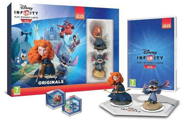 Disney Infinity 2.0's Toy Box pack stars Stitch, Merida