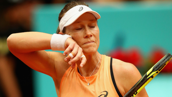 Barty through, Stosur crashes out in Strasbourg