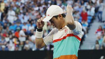 Novak Djokovic through to Australian Open semi-finals after Kei Nishikori retires