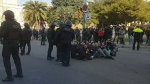Separatists Block Roads and Railway Lines in Catalonia