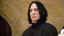 Alan Rickman's frustrations playing Snape in 'Harry Potter' revealed in personal letters