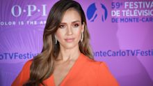 'I give zero f-cks': Jessica Alba credits motherhood with helping her overcome her insecurities