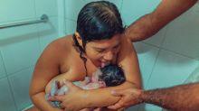 Foto de mãe lambendo seu recém-nascido causa controvérsia online