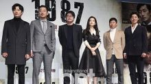 電影「1987」舉行發布會 金允石河正宇等出席