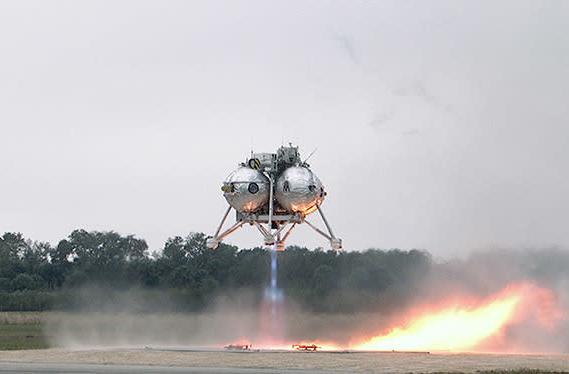 Watch NASA's Morpheus take to the air - then make a smooth landing
