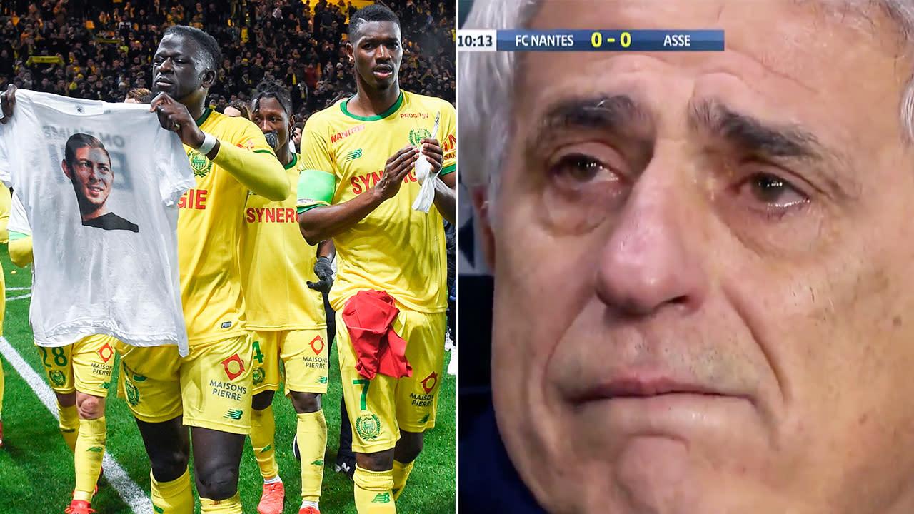 Image result for Vahid Halilhodzic crying nantes