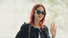 Irene Kim現身機場 走秀般一樣魅力滿分