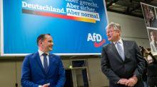 AfD-Parteitag in Dresden begonnen - Kür der Spitzenkandidaten als offene Frage