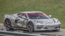 2020 Chevy Corvette spied with reduced aero on a high-speed test track