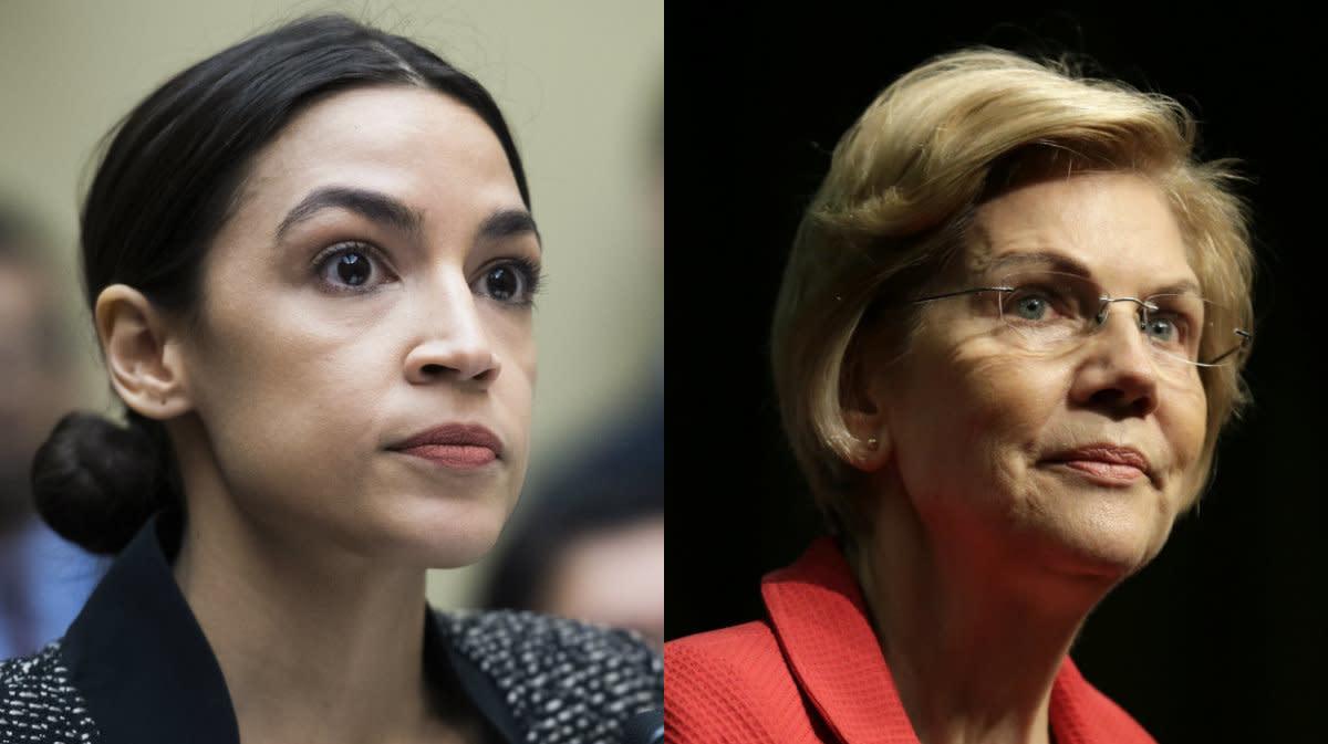 Elizabeth Warren On Alexandria Ocasio-Cortez's Steadfast Commitment To People Over Power