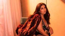 Fabiana Karla sensualiza de lingerie e dispara: 'Muita fartura no recheio'