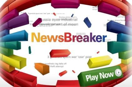 Catch the headlines with Newsbreaker advergame