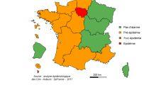 Grippe: l'épidémie sévit en Ile-de-France, 8 autres régions durement touchées