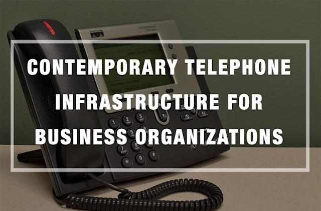 Contemporary Telephone Infrastructure for Business Organizations