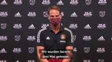 """De Boer: MLS-Restart? """"Fühlen uns sicher"""""""