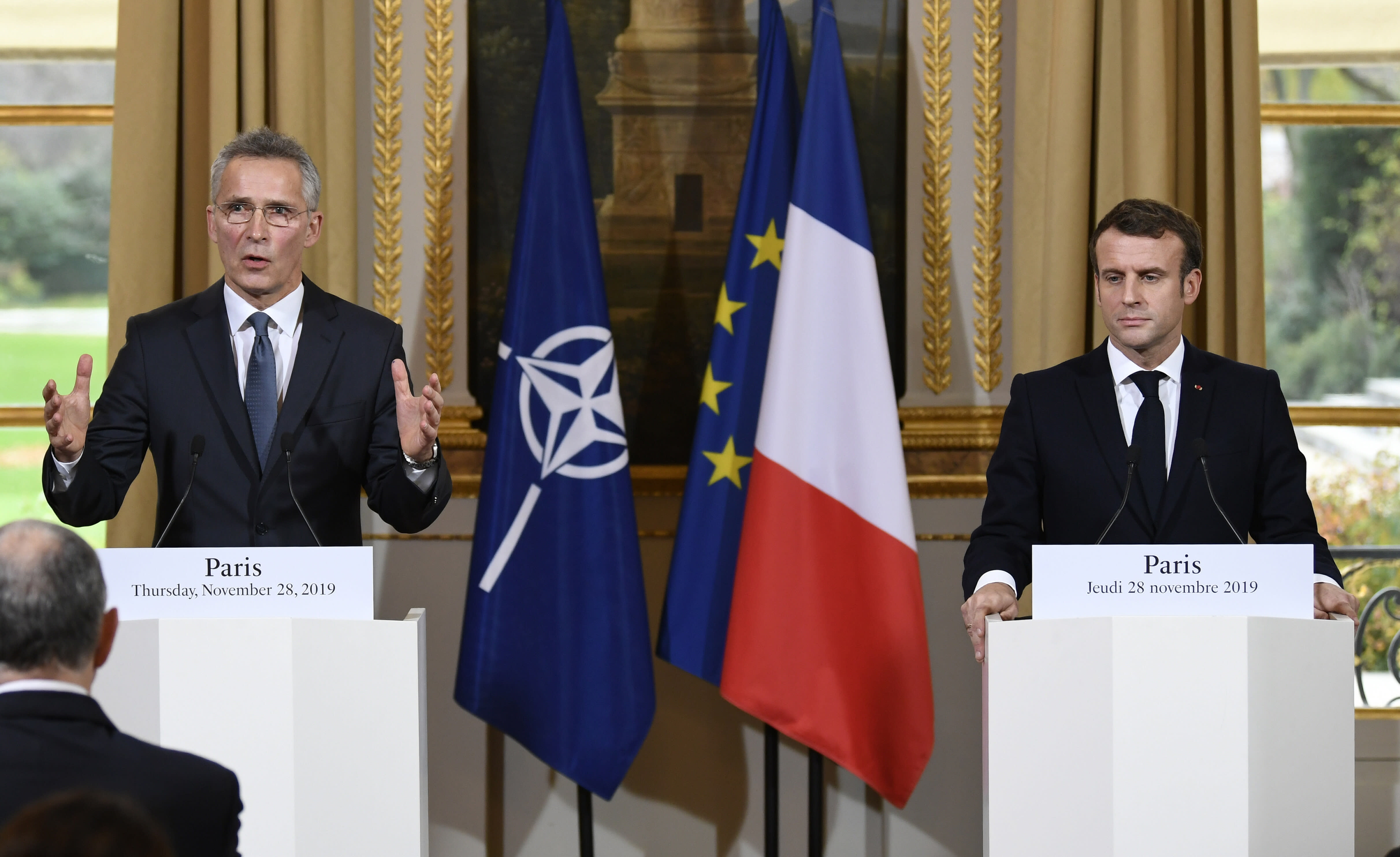 The Latest: US To Pay Less Of NATO's In-house Budget