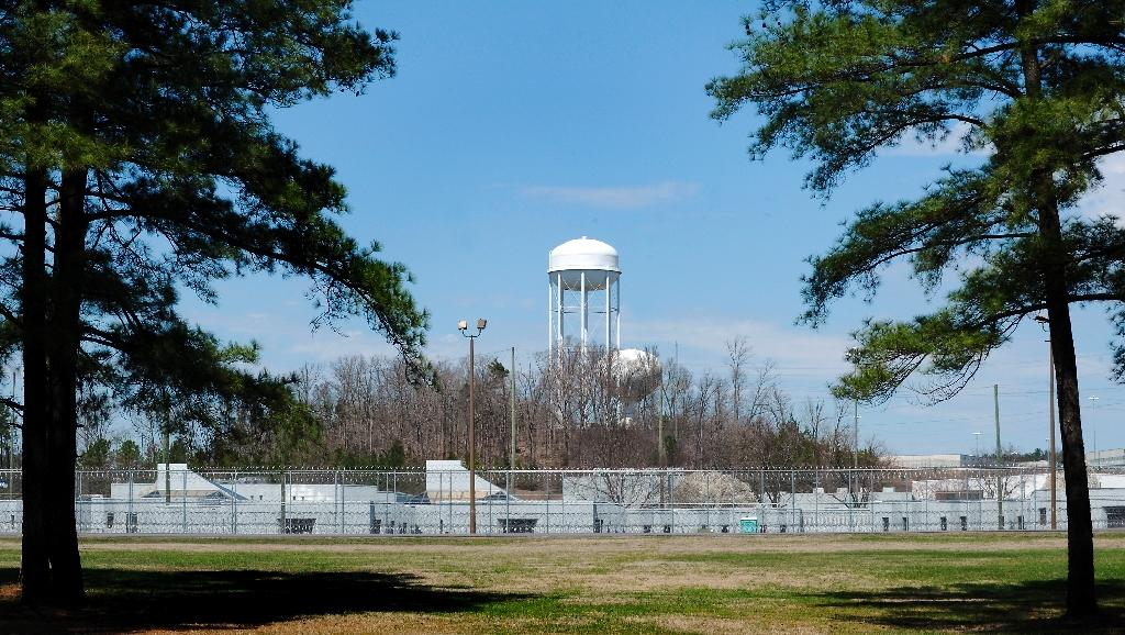 The Federal Bureau of Prisons Correctional Complex where Pollard was held in Butner, North Carolina
