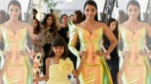 Aishwarya Rai Bachchan Makes a Dazzling Entry at Cannes 2019