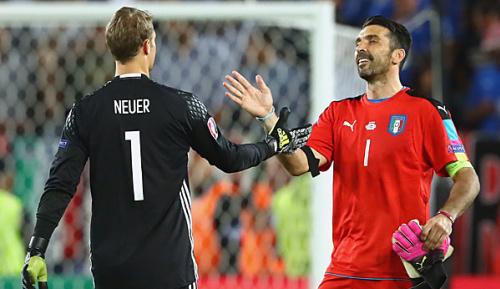 """International: Buffon lobt Neuer: """"Fantastischer Torhüter"""""""